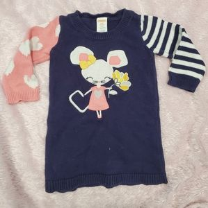 Gymboree baby girl sweater dress